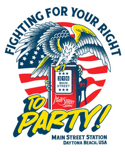 FIGHT FOR YOUR RIGHT TO PARTY