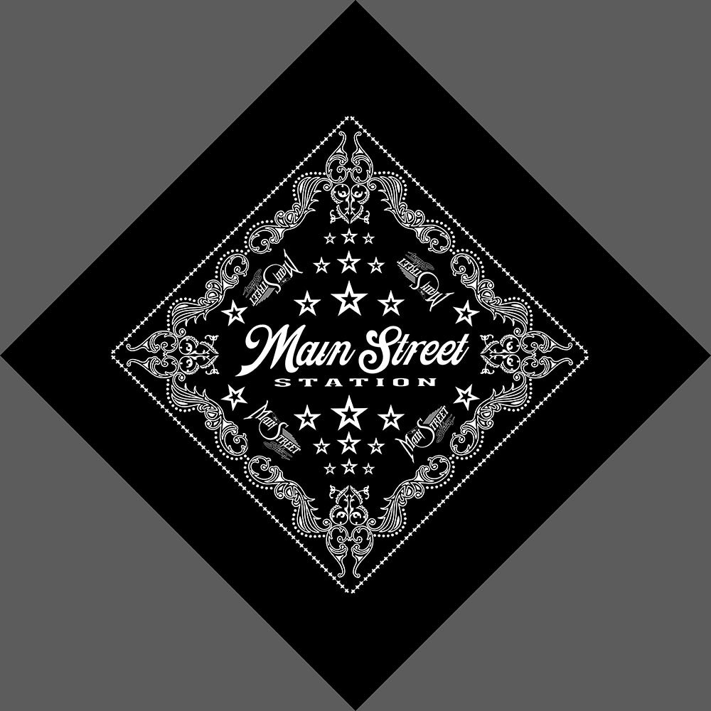 Main Street Station Bandanas are a must have!