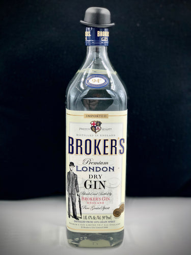 Broker's Premium London Dry Gin (1 liter)