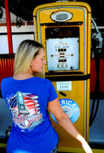 "Load image into Gallery viewer, Ladies ""WE STAND"" Short Sleeve Tee"