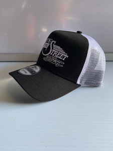 Black/White Snap Back Hat