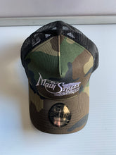 Load image into Gallery viewer, Camo Main Street Station Snap Back Hat