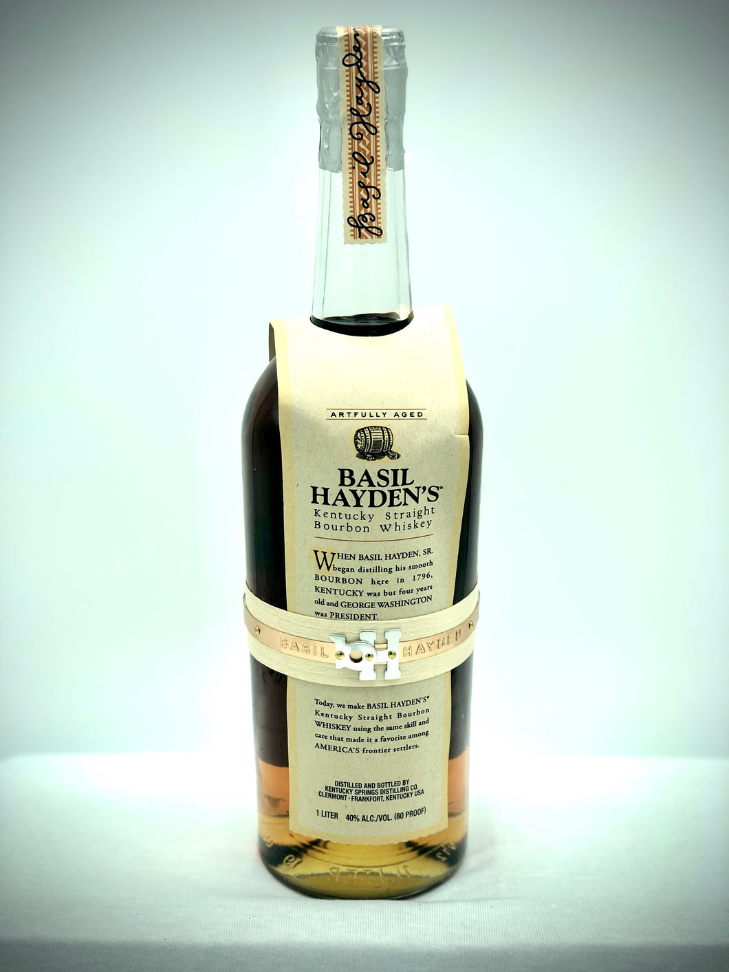 Select liquor | Basil Hayden Bourbon 1 liter Bottle