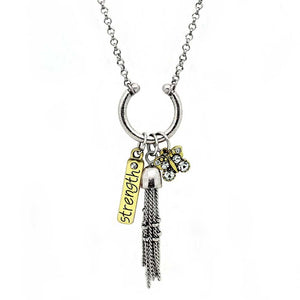 Strength Charm Necklace
