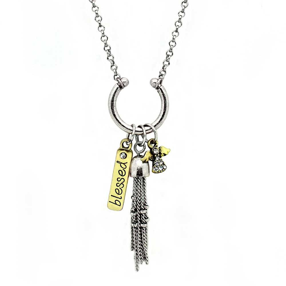 Blessed Charm Necklace