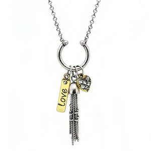 Believe Charm Necklace