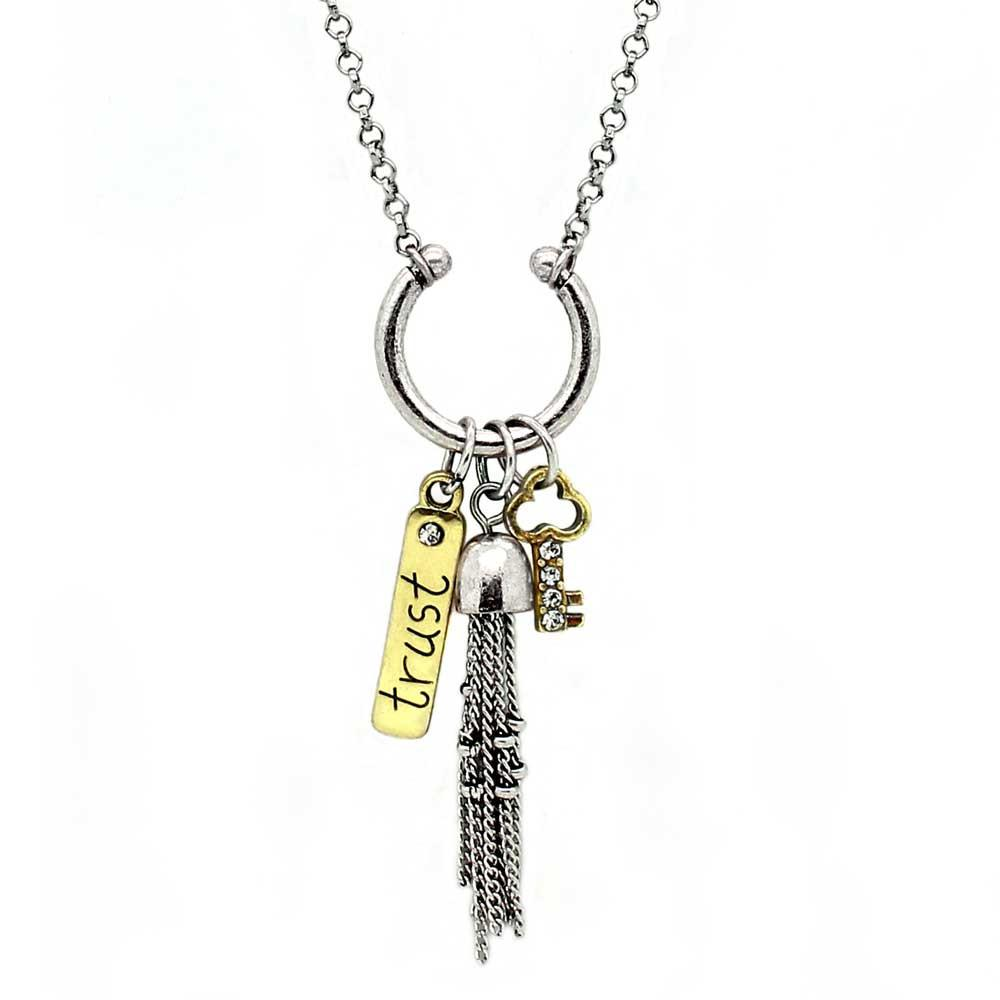 Trust Charm Necklace