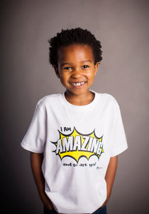 I Am Amazing (and so are you!) - Short Sleeve Tee