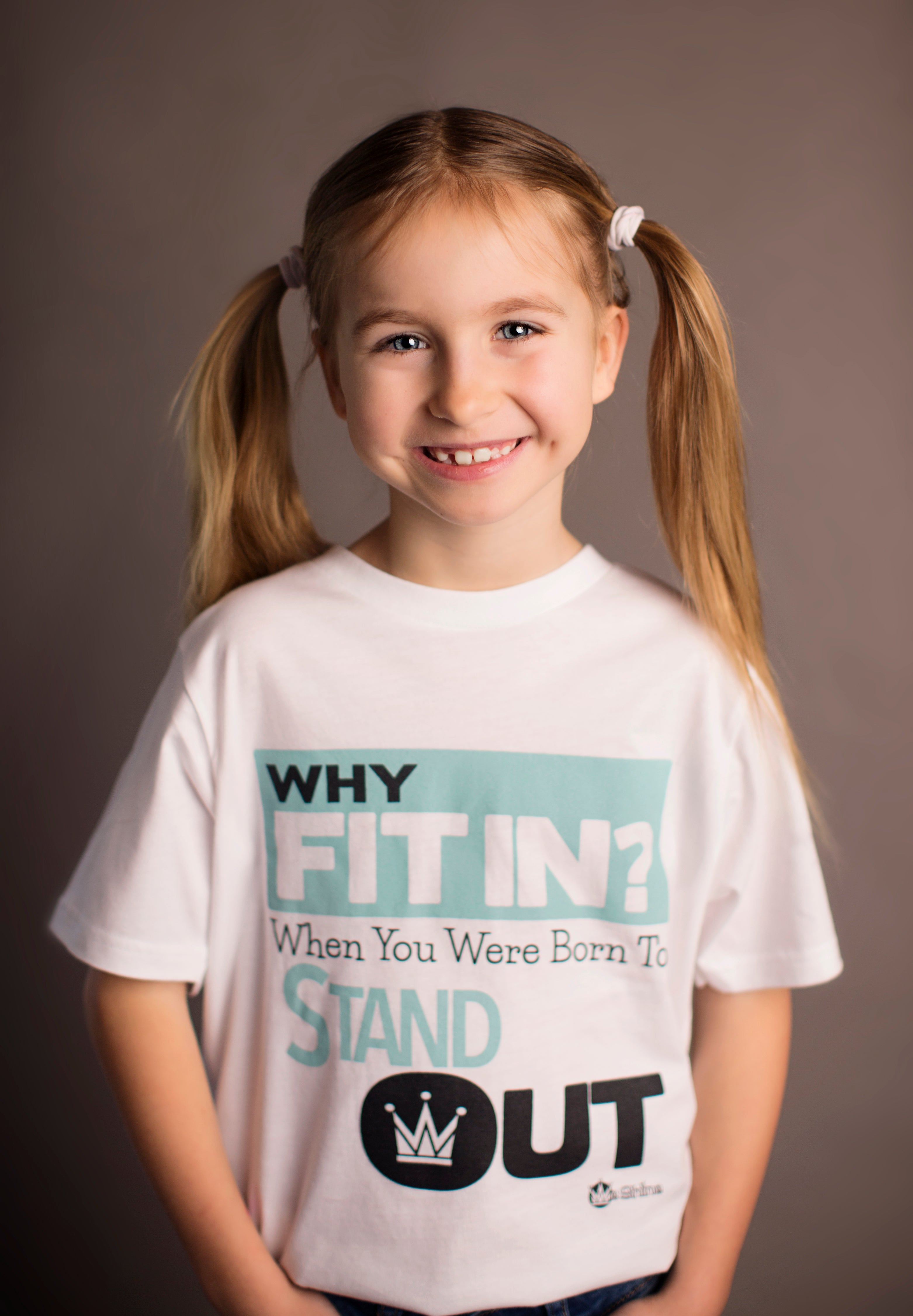 Why Fit In? When You Were Born To Stand Out  - Short Sleeve Tee