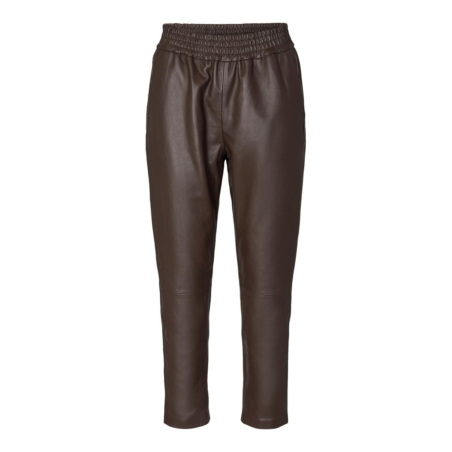 Shiloh Crop Leather Pant