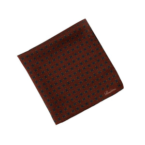 Medallion Wool/Silk Hankie