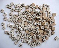 Scrabble tiles Pronunciation workshop