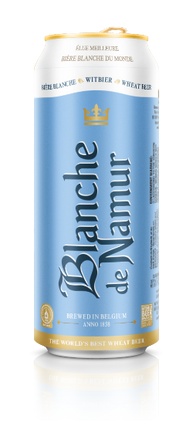 Blanche De Namur Belgian Wheat Beer 24 x 500ml cans