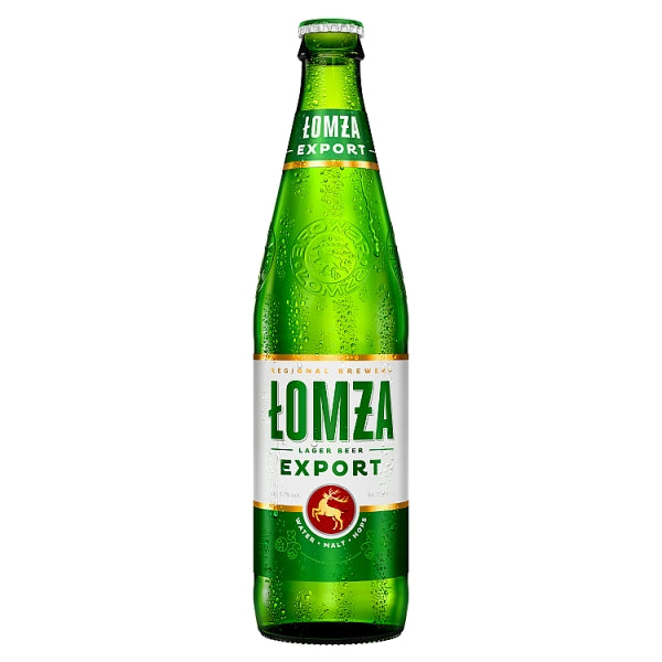 Lomza Export Polish Beer 20x500ml Bottle 5.7%