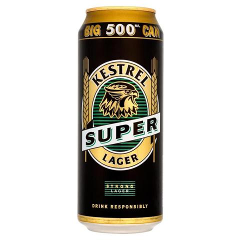 Kestrel Super Lager 24x500ml