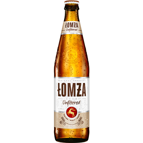 Lomza Non-Pasteurized 5.7% Lager 20 x 500ml Bottles