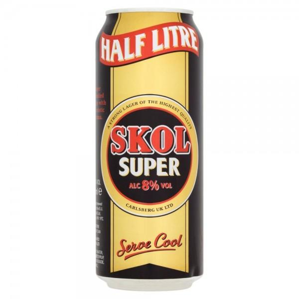 Skol Super Strength Lager 24x500ml