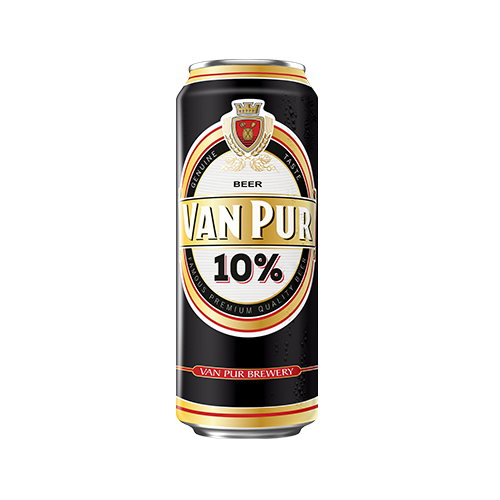 Van Pur 10% Lager 24 x 500ml Cans