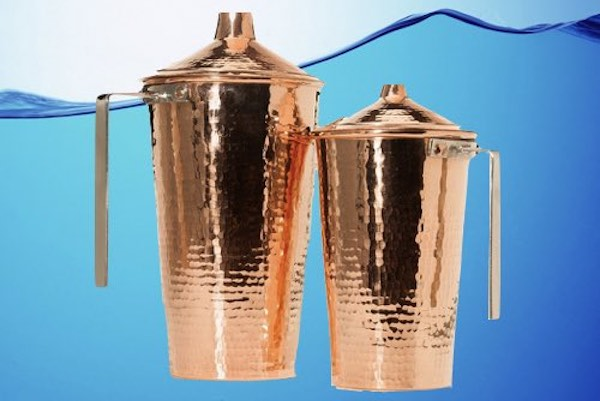 Sertodo Ayurvedic Copper Gangotri Water Pitcher With Lid 48 OZ brings together ayurvedic natural health and handcrafted quality craftsmanship