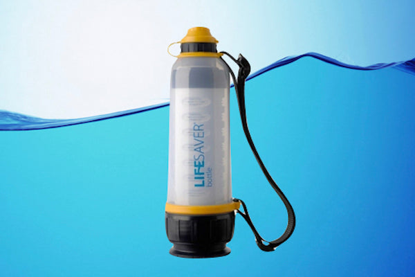 The LIFESAVER Water Purifier Bottle Will Save Your Life