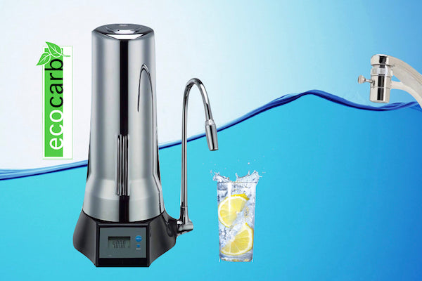 Eco Carb Countertop Water Filter: For Healthy, Pure Drinking Water