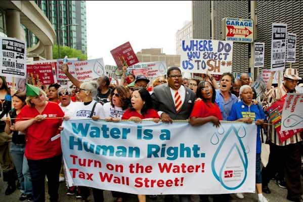 Water Is Not A Privilege, It's Our Human Right