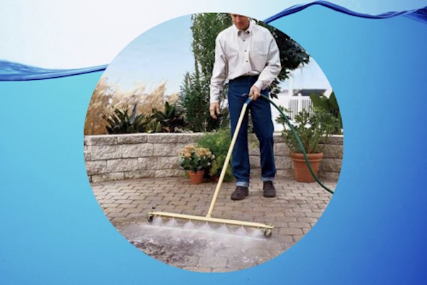 Water Jet Heavy Duty Water Saving Broom: Save Time and Money