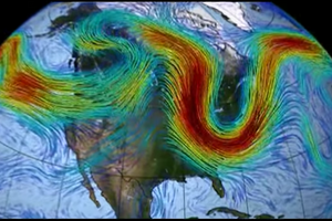 Gigantic Ocean Vortices May be Directly Correlated to Global Warming