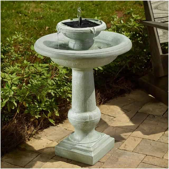Birdbath Water Fountains - Solar Powered
