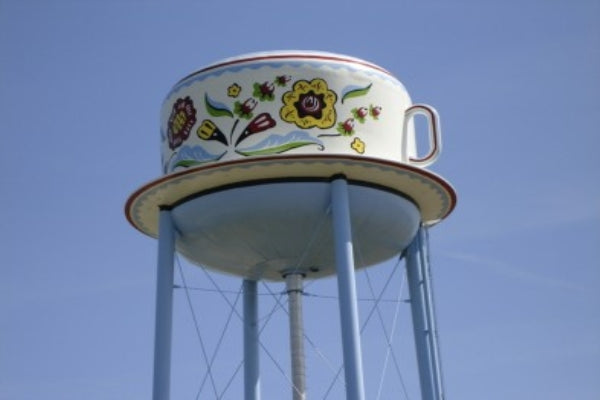 Coffee Cup Water Tower (Stanton, Iowa)