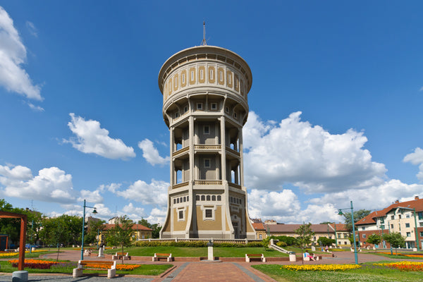 Old Lady Water Tower (Szeged, Hungary)