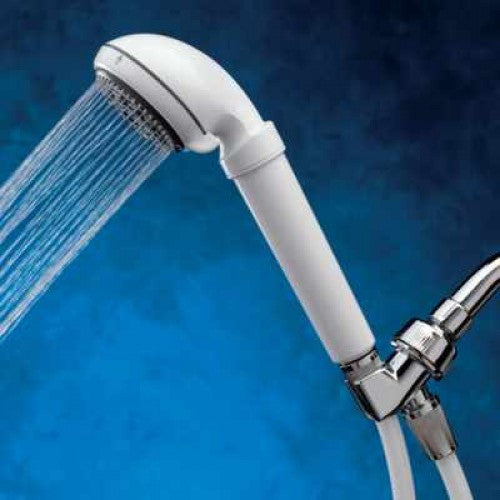 Sprite HR5-WH Royale 5 White Handheld Massage Shower Filter - WaterCheck.biz
