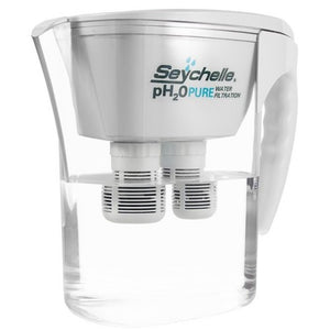 Seychelle pH2O Pure Alkaline Water Filter Pitcher - Large