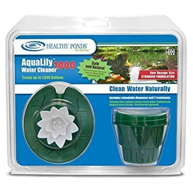 Bioverse Healthy Ponds AquaLily 1000 Gallon Pond Water Cleaner - White