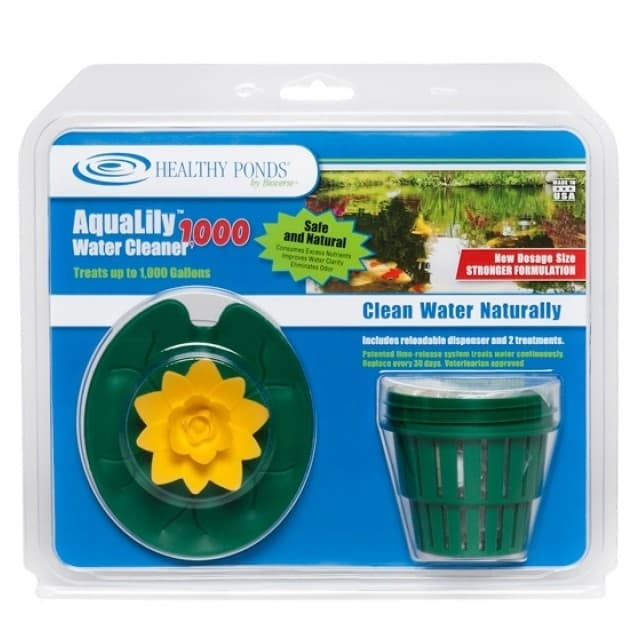 Bioverse Healthy Ponds AquaLily 1000 Gallon Pond Water Cleaner - Yellow