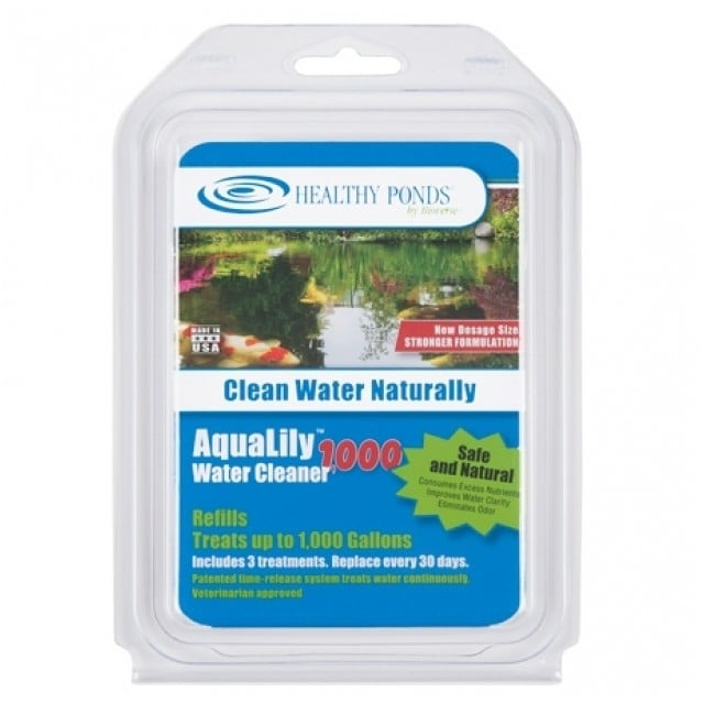 Bioverse Healthy Ponds AquaLily 1000 Gallon Pond Water Cleaner Refills