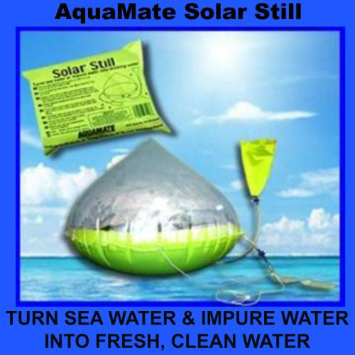 EchoMax AquaMate Inflatable Solar Water Still Desalinator - WaterCheck.biz