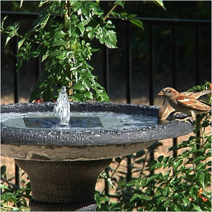 Smart Solar Aquanura Solar Birdbath Fountain Insert