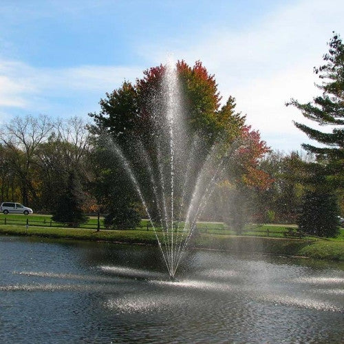 Scott Aerator Atriarch Fountain Pond Aerator 1 1/2 HP - WaterCheck.biz