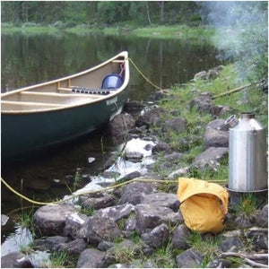 Kelly Kettle Stainless Steel Camping Water Kettle Base Camp Large