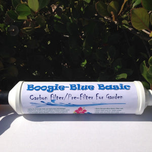 Boogie Blue Basic Garden Hose Water Filter Removes Chlorine - WaterCheck.biz