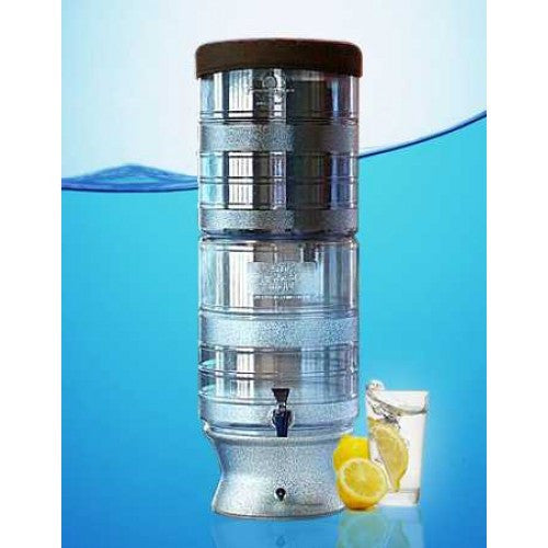 Berkey Light Gravity Fed Water Filter Purifier System With 4 Black Berkey Filters - WaterCheck.biz