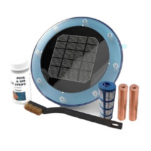 Blue Sea Solar Powered Pool Water Purifier Cleaner System