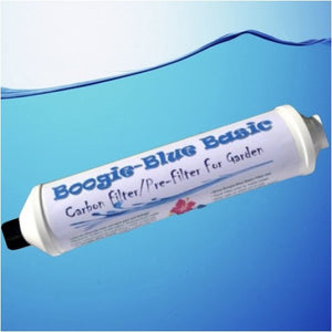 Boogie Blue Basic Garden Hose Water Filter Removes Chlorine