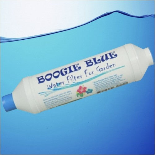 Boogie Blue Classic Garden Hose Water Filter Removes Chlorine And Chloramine