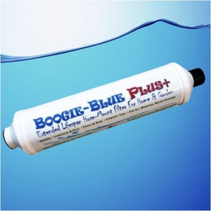 Boogie Blue PLUS Garden Hose Water Filter Removes Chlorine And Chloramine