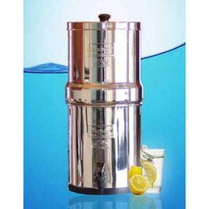 Big Berkey Gravity Fed Stainless Steel Water Filter Purifier With 4 Black Berkey Filters - WaterCheck.biz