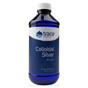 Trace Minerals Bio Active Vegan 30 PPM Colloidal Silver - 8 Oz