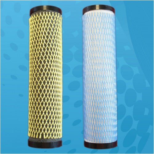 Aquacera EcoFast Twin W9410120 MultiMedia and AquaMetix Replacement Filter Pack