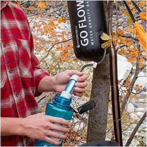 HydroBlu Go Flow Versa Flow Gravity Water Filter Bag Package